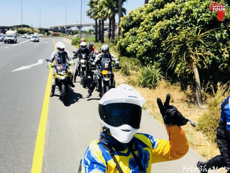 Motocyklami po Afryce z Motulem 14