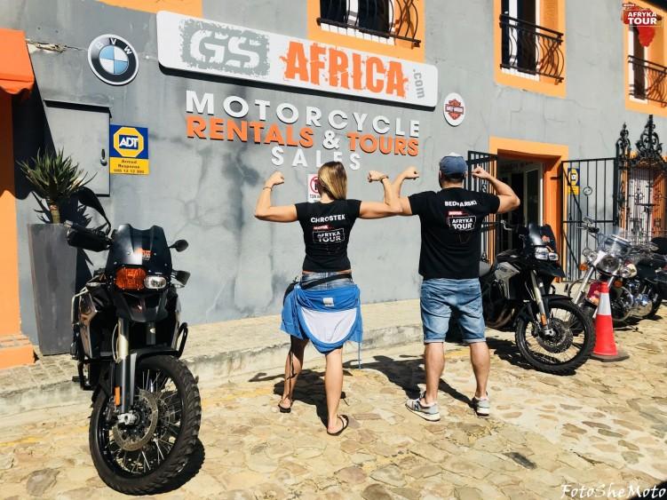 Motocyklowa wyprawa RPA Motul 18