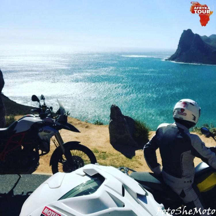 RPA na motocyklu 75