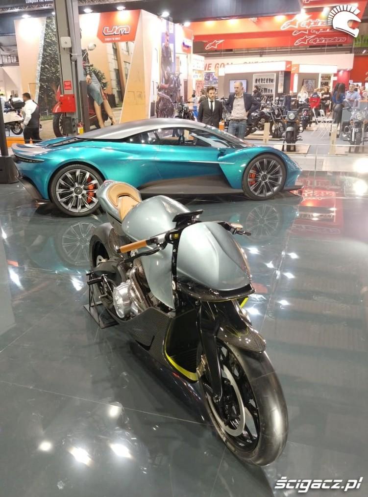 eicma 2019 Aston Martin