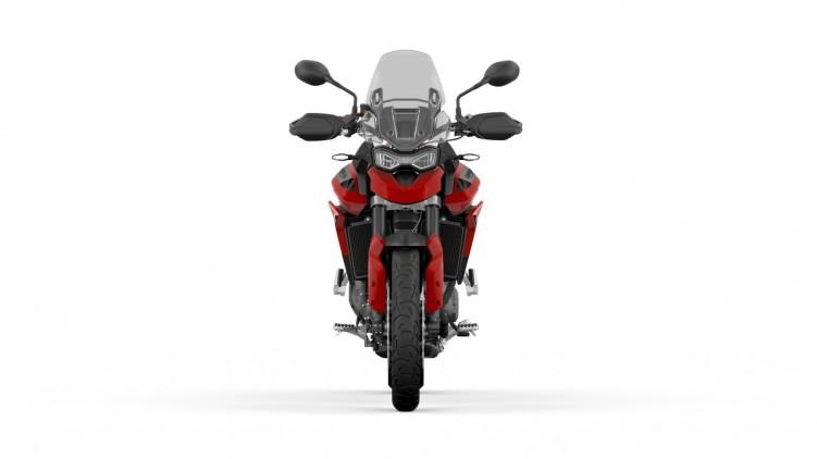 076 Tiger 900 GT 2020 czerwony przod