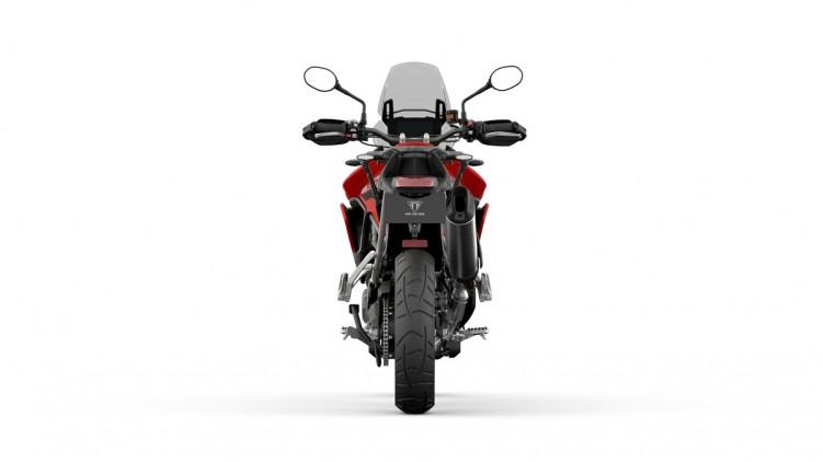 099 Tiger 900 GT PRO 2020 czerwony tyl