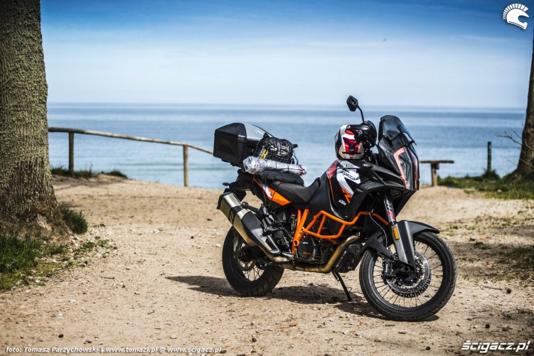00 1290 Super Adventure R test motocykla KTM