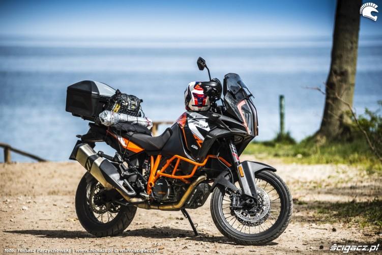 KTM 1290 Super Adventure R test motocykla morze 3