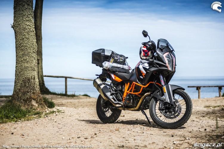 KTM 1290 Super Adventure R test motocykla morze 6