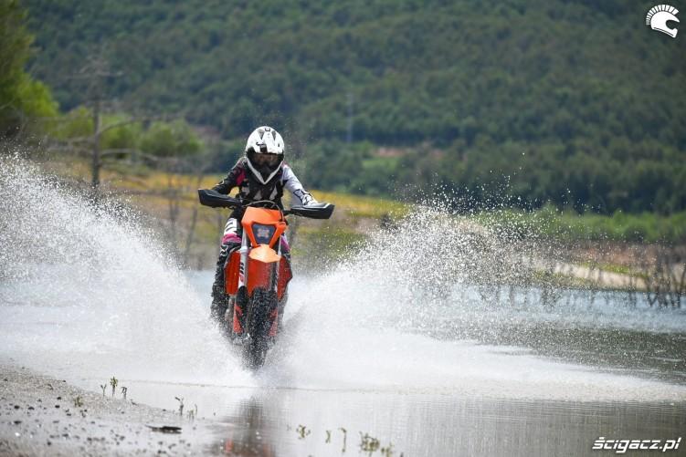 KTM 2019 EXC150 EXC250 EXC300 test Ewelina Szkudlarek 4