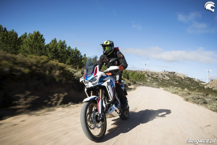 africa twin 1100 adventure sports barry test