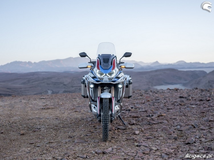 africa twin 1100 adventure sports front