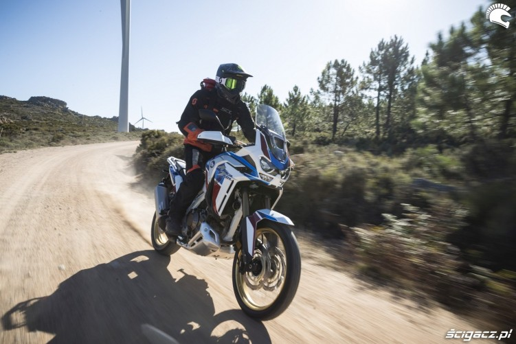 africa twin 1100 adventure sports test