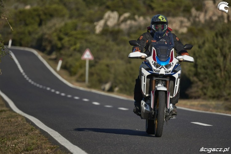 honda africa twin 1100 adventure sports onroad