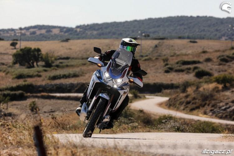 honda africa twin 1100 adventure sports zdjecie z jazdy
