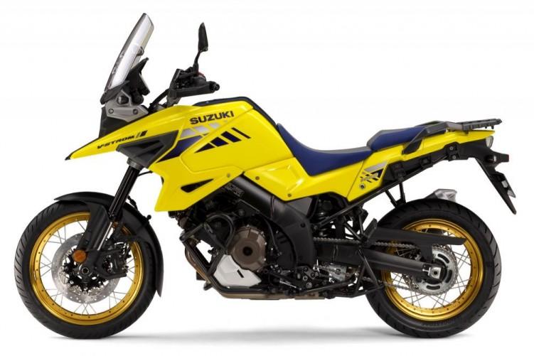Suzuki V Strom 1050 2020 zolty