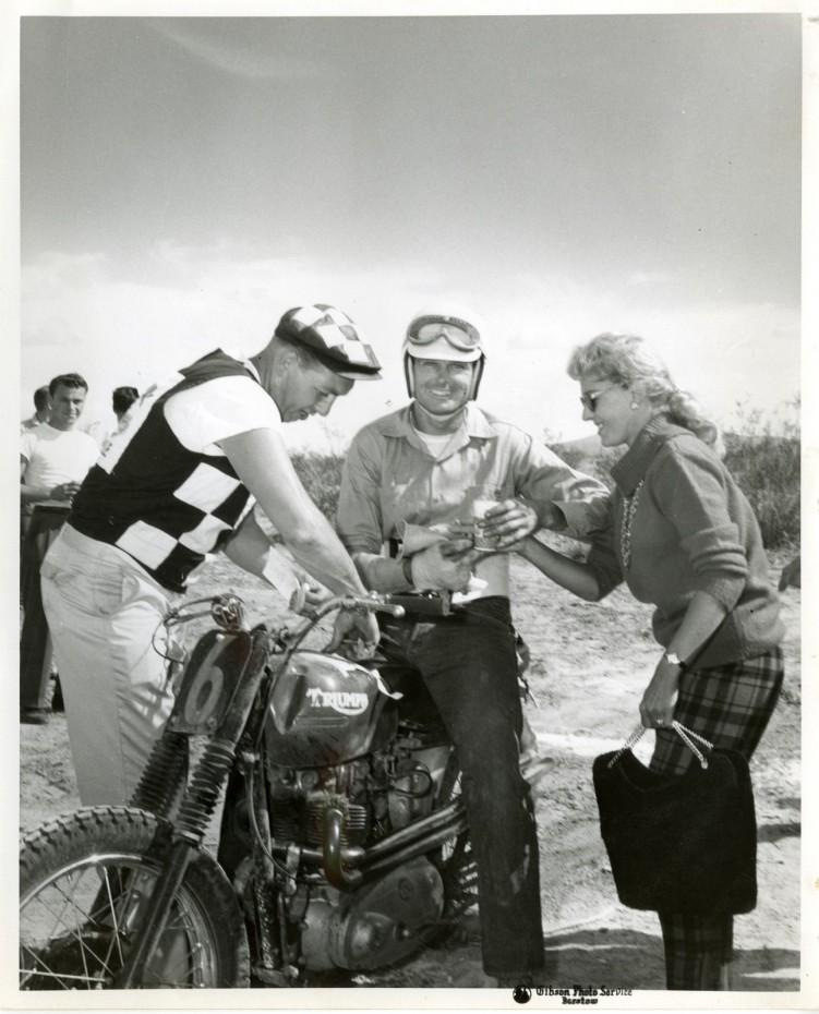 Bud Ekins and Betty