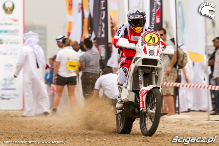 Motocykle Abu Dhabi Desert Challenge 2012