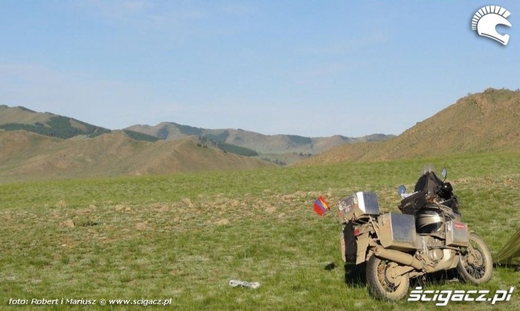 Mongolia wyprawa motocyklami