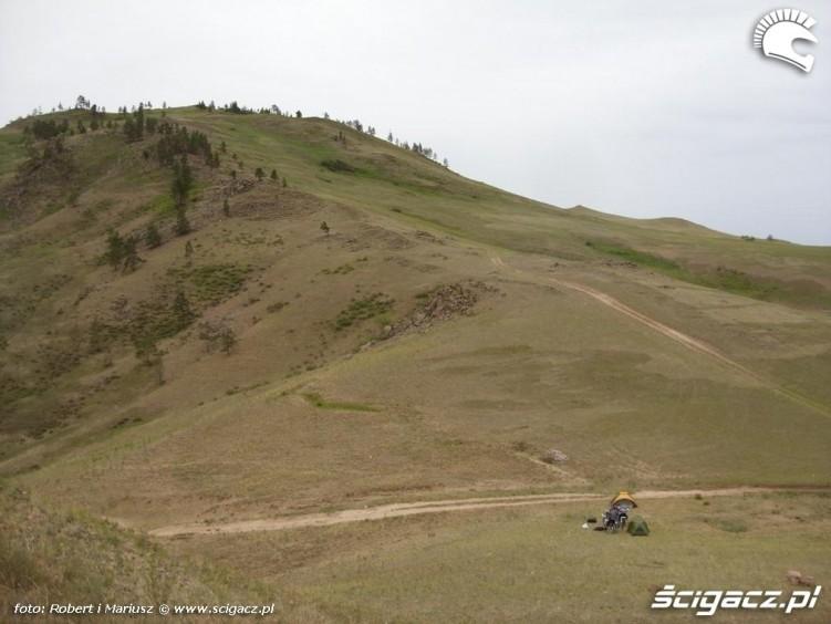 nocleg 2 wyprawa motocyklem do Magadanu