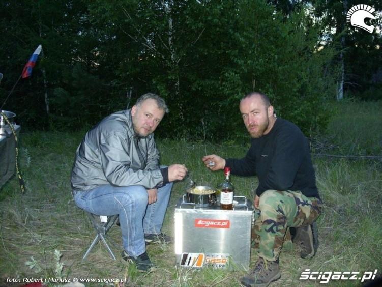 obozowisko 2 wyprawa motocyklem do Magadanu