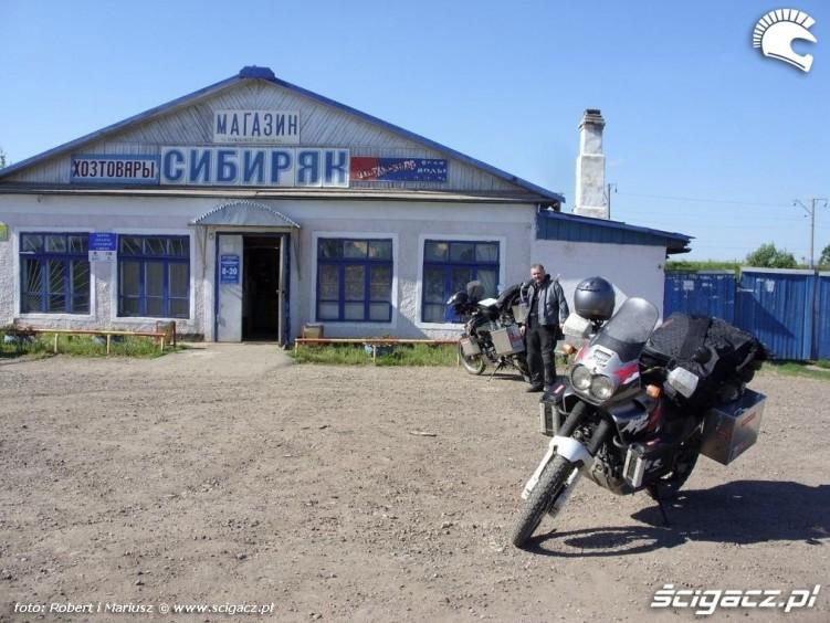 postoj wyprawa motocyklem do Magadanu