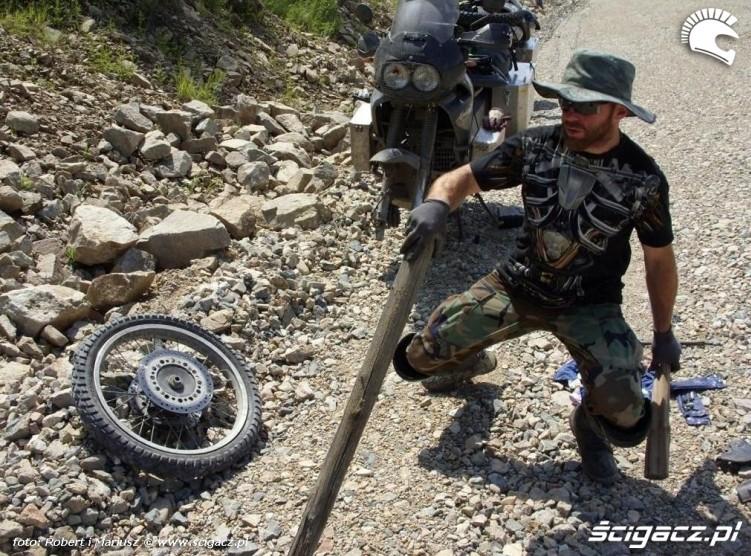 w drodze wyprawa motocyklem do Magadanu