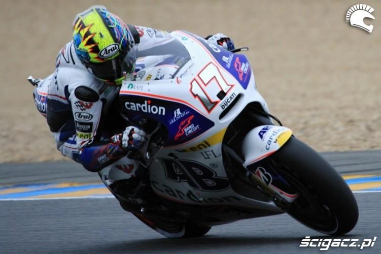 Karel Abraham LeMans MotoGP