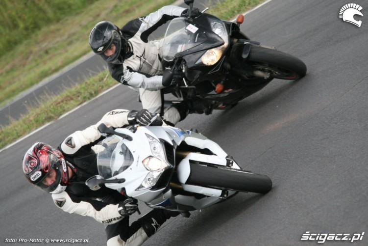 GSX-R vs CBR Fun and Safety Pro-Motor LUBLIN