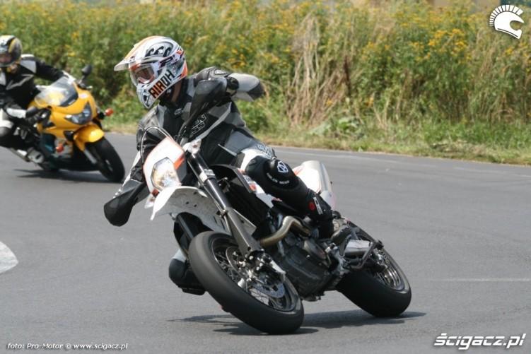 supermoto Fun and Safety Honda Polska Pro-Motor LUBLIN