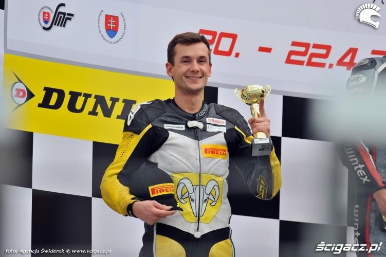 Marek Szkopek na podium wmmp 2012