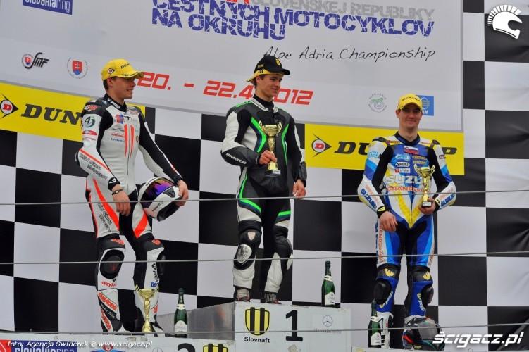 WMMP Slovakiaring podium