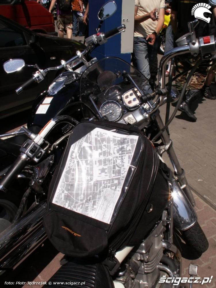 mapa przejazdu tankbag protest przeciwko oplatom na autostradach