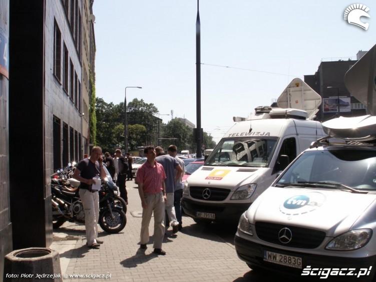 wozy TV ministerstwo protest przeciwko oplatom na autostradach
