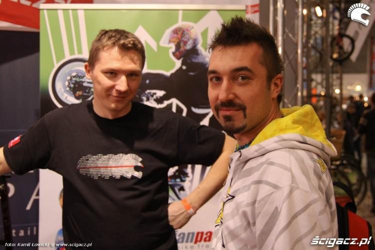 Rafal RS Taichi i Mariusz Lowicki Targi Motocyklowe Warszawa 2011 - III OWMiS