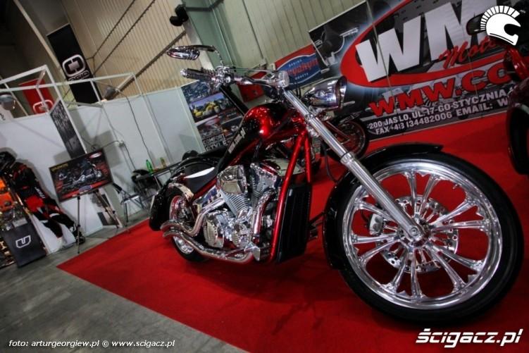 custom Targi Motocyklowe w Warszawie - III Ogolnopolska Wystawa Motocykli i Skuterow 2011