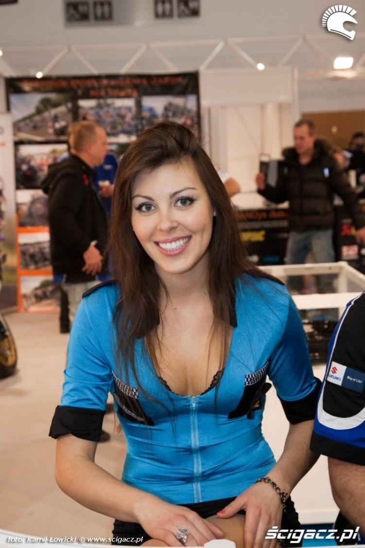 hostessa Suzuki III wystawa motocykli w warszawie