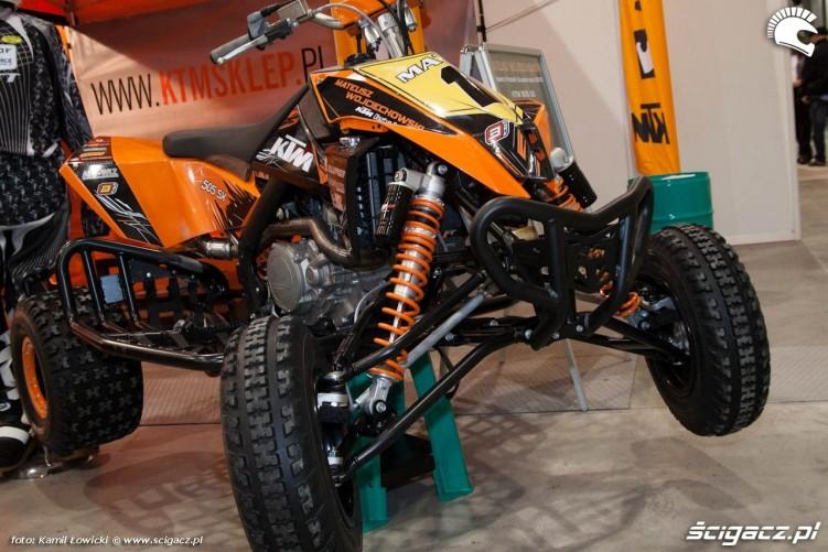 ktm 505sx quad Targi Motocyklowe Warszawa 2011 - III OWMiS