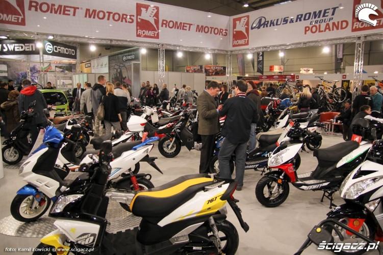 romet arkus Targi Motocyklowe Warszawa 2011 - III OWMiS