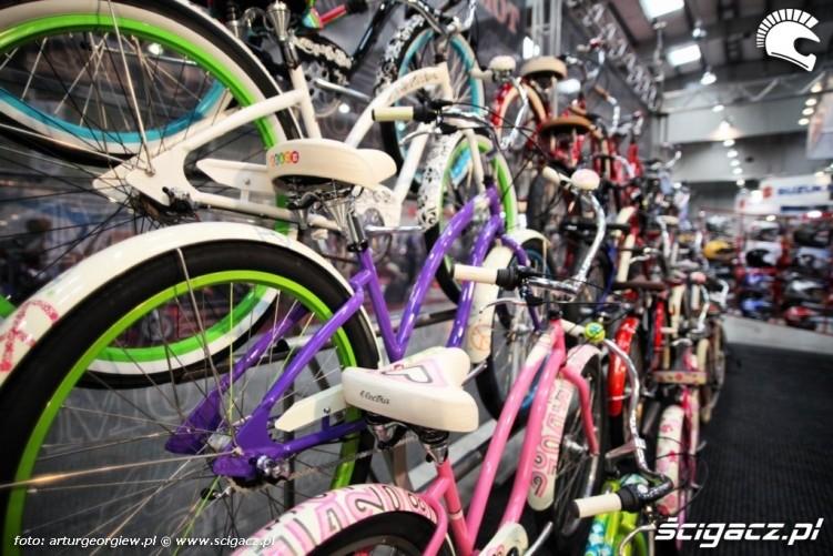 rowery Targi Motocyklowe w Warszawie - III Ogolnopolska Wystawa Motocykli i Skuterow 2011