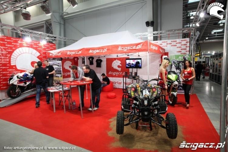 stoisko scigacz PL Targi Motocyklowe w Warszawie - III Ogolnopolska Wystawa Motocykli i Skuterow 2011