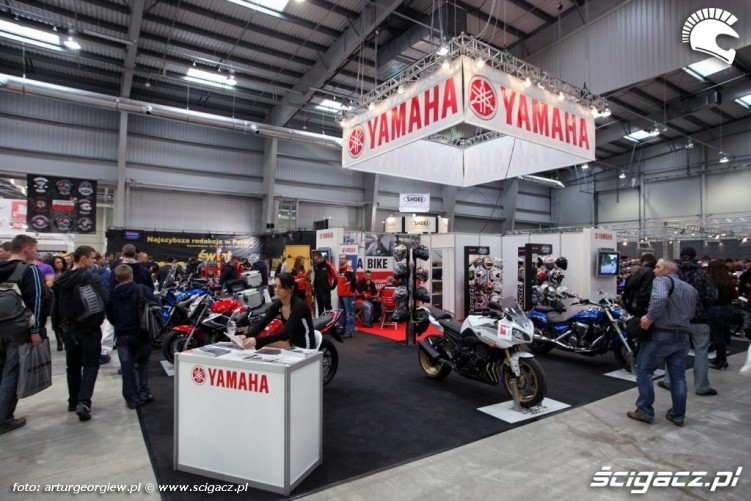 stoisko yamaha Targi Motocyklowe w Warszawie - III Ogolnopolska Wystawa Motocykli i Skuterow 2011