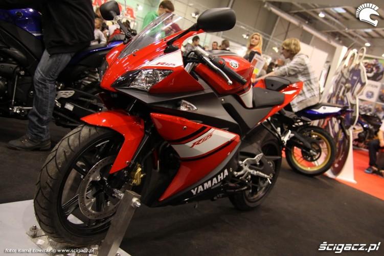 yamaha r125 Targi Motocyklowe Warszawa 2011 - III OWMiS