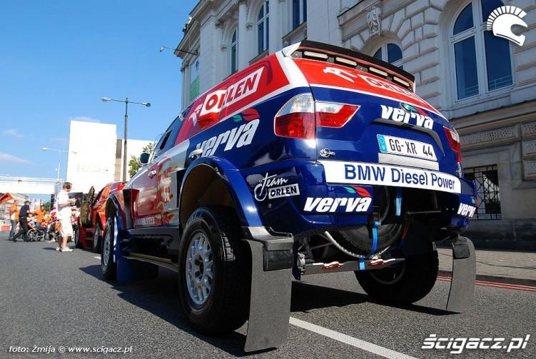 Samochod rajdowy BMW Orlen Team
