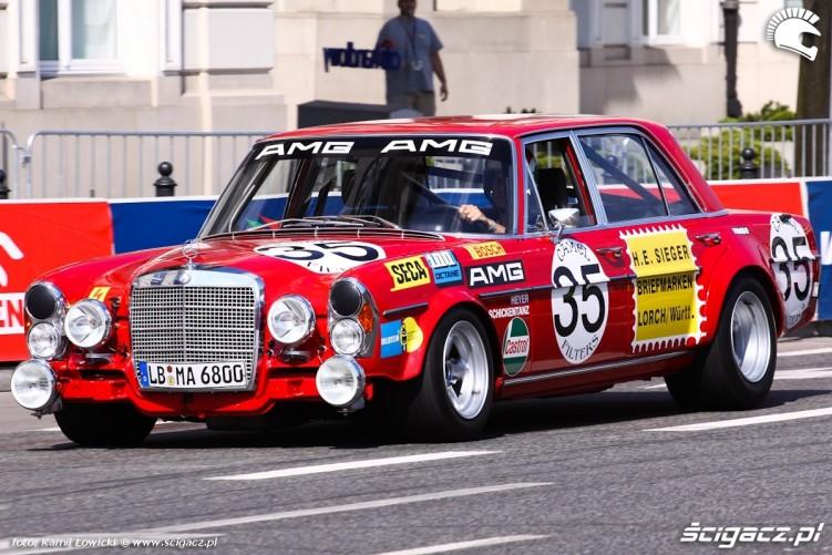 Stary Mercedes Verva Street Racing
