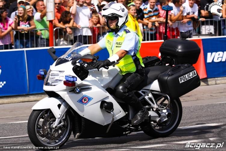 Verva Street Racing Policjant na motocyklu