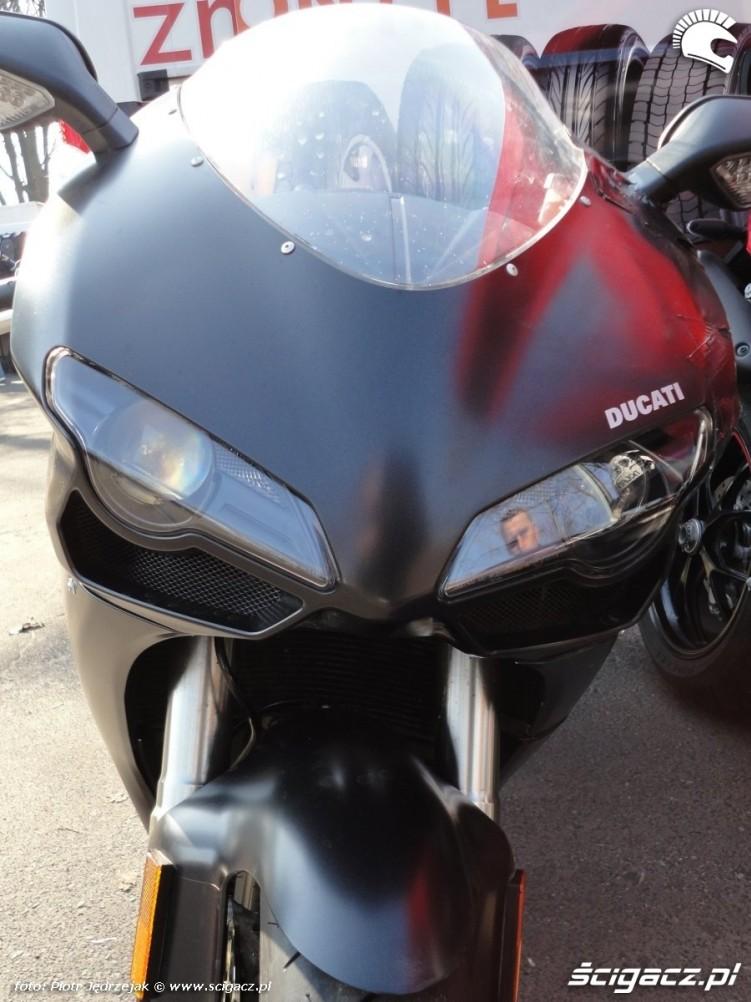 ducati 848 warszawski bazar motocyklowy - 13 marca poczatek sezonu