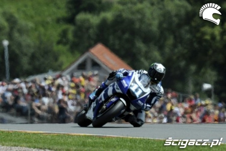 Yamaha Sachsenring spies track