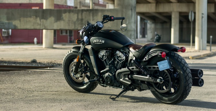 Indian Scout Bobber statyka