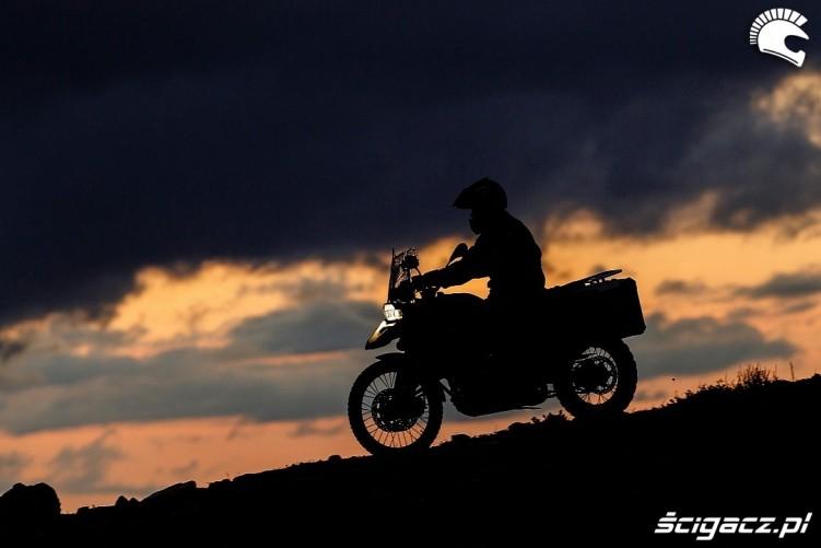 wieczorem w trasie