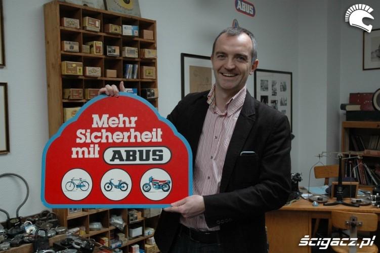 Piotr Szczyglowski jest przekonany o skutecznosci ABUS