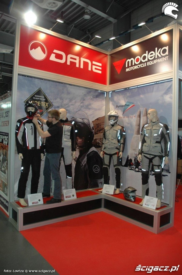 Dane i Modeka Motor Show Poznan 2015