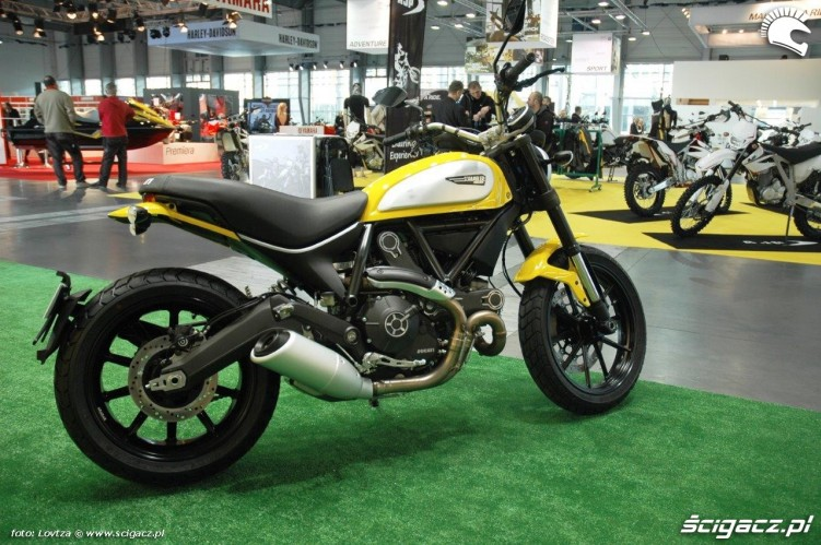 Ducati Scrambler Motor Show Poznan 2015