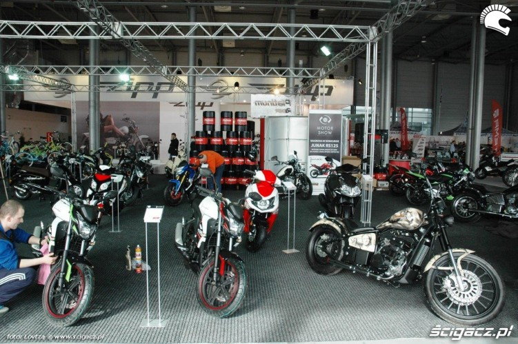 Junak Motor Show Poznan 2015